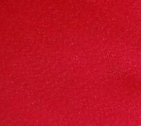 Red stretch denim