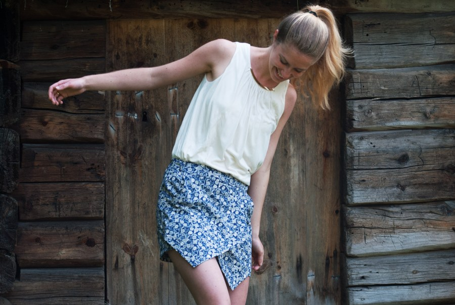 Sew Mariefleur Belize Skort Itch to Stitch