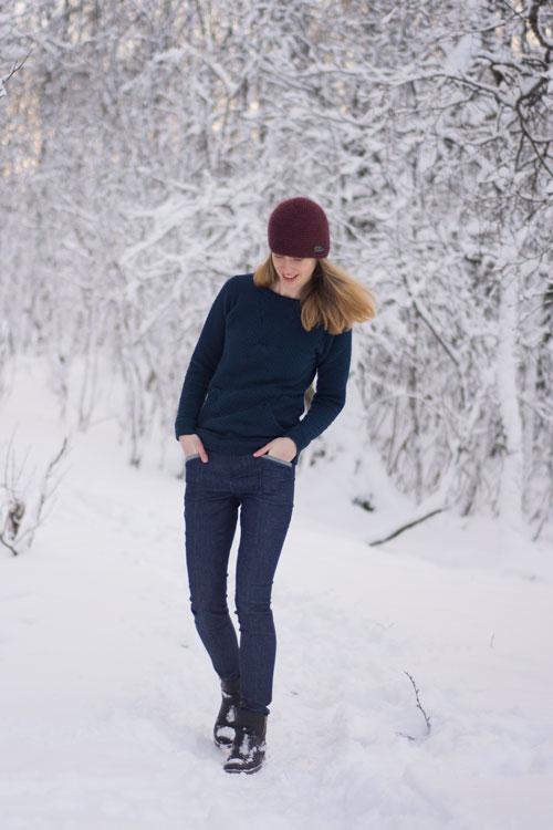 Sew Mariefleur Jamie Jeans Named Geodesic Blueprints for Sewing Indiesew