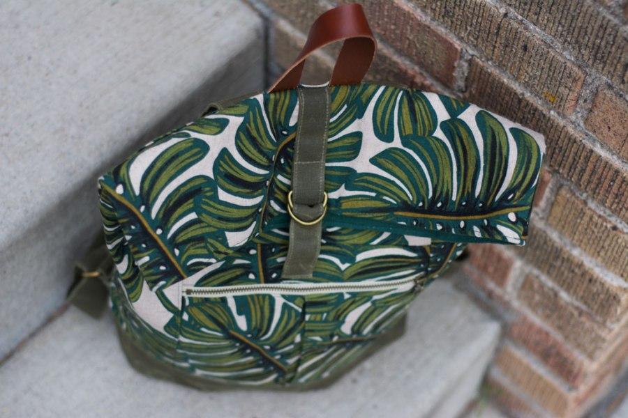 Sew Mariefleur Noodlehead Range Backpack