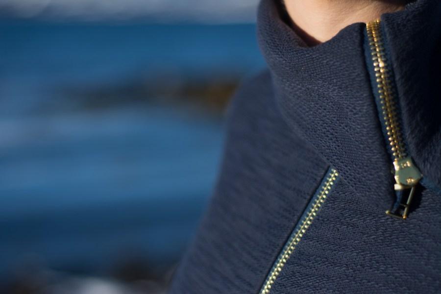 Sew Mariefleur Moto Sweatshirt Seamly Indiesew
