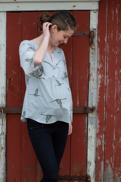 Sew Mariefleur Phoenix Blouse Hey June