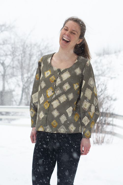 Sew Mariefleur Wren Chalk Notch