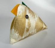 Gold Hen Pin Cushion