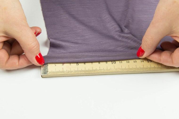 Stretch Fabric Characteristics Percentage of Stretch B