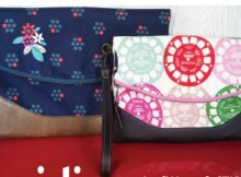 Free foldover clutch bag purse sewing pattern from Swoon. I love the options for this, and the extra zipper pocket which makes it very versatile and easy to use/sew.