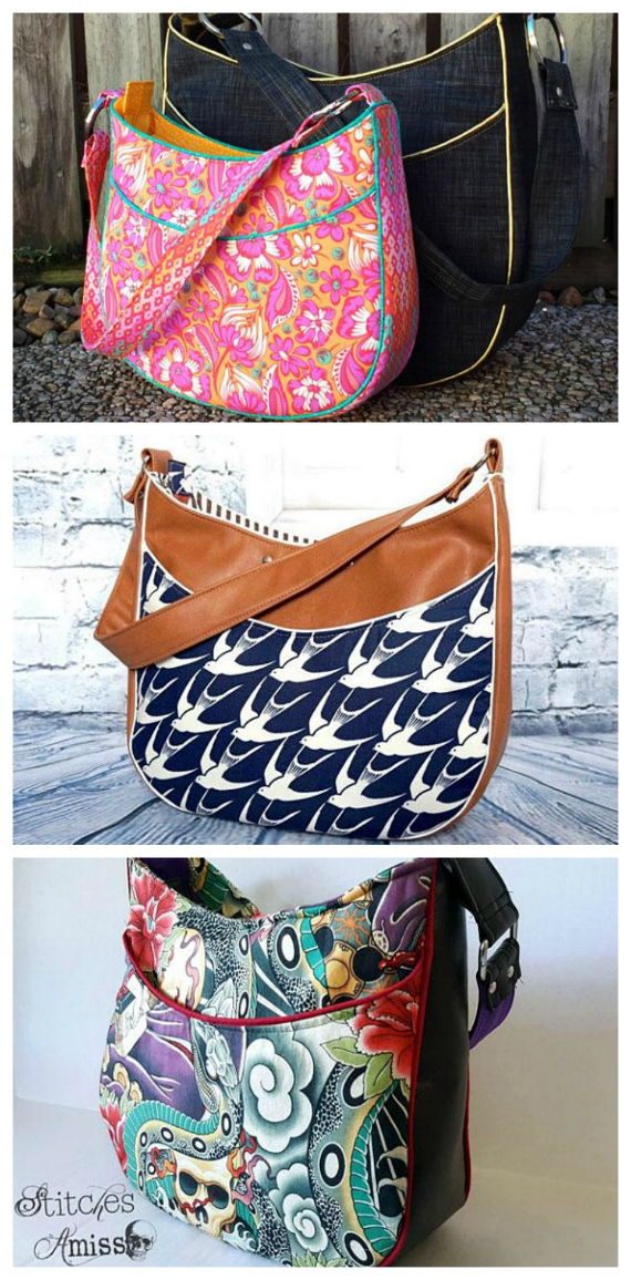Roll with it tote bag - Sew Modern Bags
