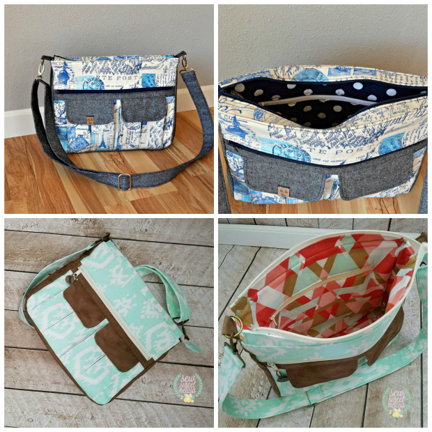 Sydney Crossbody Bag Pattern Sew Modern Bags