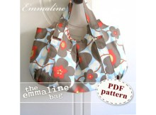 You can make the Emmaline Bag with this extremely comprehensive PDF downloadable pattern. This stylish handbag is extremely practical, modern, classy and very spacious. You can carry all of your essentials and keep your keys, phone or wallet tucked away in one of the 3 optional inside pockets.