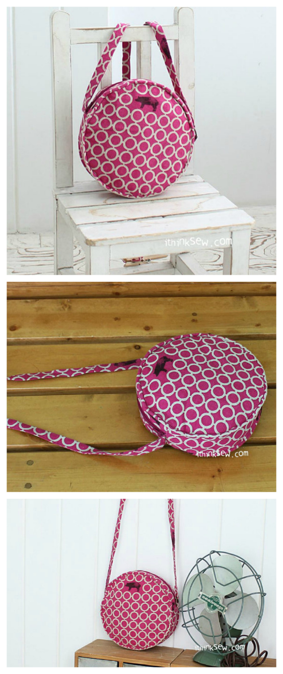 "If you want an efficient and stylish bag for the kids, then why not make the Janelle Kid's Mini Cross bag! Its unique circular shape will stand out from the crowd. The Janelle Kid's Mini Cross Bag is a petite bag designed to be held by young girls! The bag was specifically designed to be held as a mini cross bag which the child can use with comfort yet with a natural style. Thanks to the addition of a zipper closing, the child won't have any trouble securely storing all of her personal belongings. The bag measure approximately 6 3/4"" wide by 6 3/4"" high"