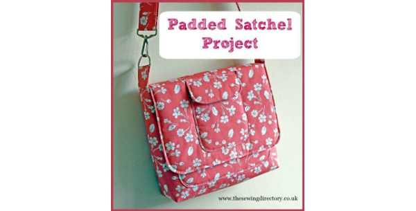 With this FREE pattern and tutorial, you can make this modern satchel-style shoulder bag. It's ideal for every-day use, with the main body and outer pockets all being padded, which gives you a safe place to store your phone and tablet. The adjustable shoulder strap is long enough to wear across your body.