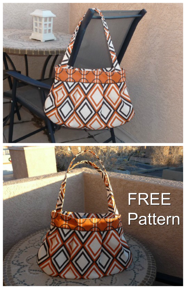 Here's a very pretty pleated purse where the pattern is 100% FREE. The designer of this bag has made lots of these Pleated Purses for herself and she receives compliments all the time.