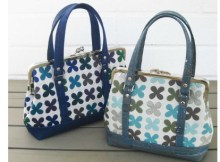With this fabulously designed purse, the pattern allows you to make the Classic Frame Purse in three sizes and two styles so you actually get to chose which of six purses to make or make them all. This Classic Frame Purse can be made small, medium and large and they are the kind of purse that really stand out from the crowd.