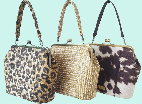The Hampton Handbag pattern makes a chic, sophisticated bag with a timeless appeal.