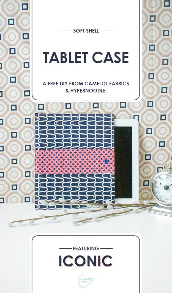 Today Sew Modern Bags has brought you a Tablet Case FREE tutorial and pattern. This case is both equally protective and stylish for your tablet. Choose one of your favorite fabrics and make yourself a pretty to look at case that you will want to take with you everywhere. The slight padding adds support and the snap closure makes it easy for you to use your tablet and then store it safely and securely.