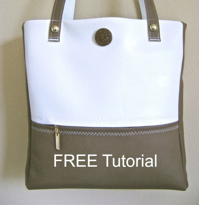 "You can see from these pictures that this FREE tutorial produces a stunningly beautiful Travel Bag. It has both style and convenience and makes the ""perfect for summer"" vacation bag."