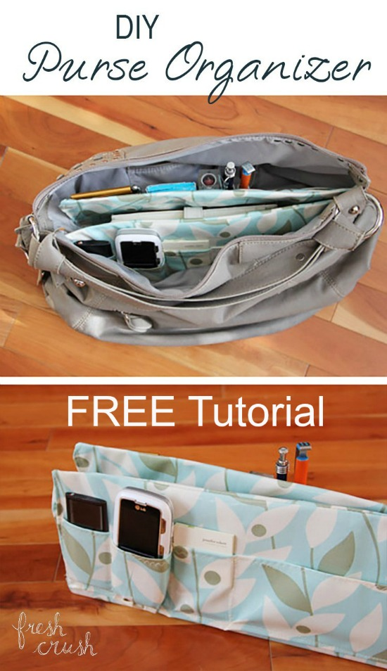 Well here is a fabulous FREE tutorial that will allow you to transform your completely disorganized purse into a purse where you'll be able to find whatever you want easily and quickly.