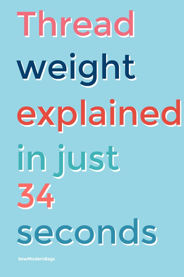 Image thread weight explained in just 34 seconds