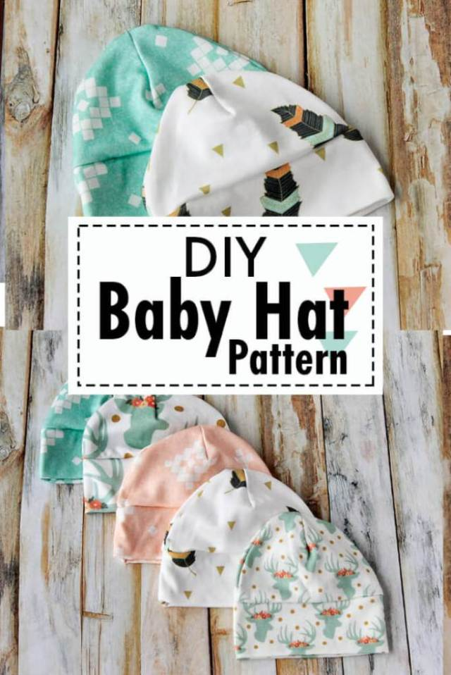 Free baby hat sewing pattern. Picture of baby hats to sew in various  different sizes c95bbb4945a