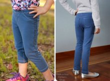 jeggings sewing pattern for girls pants
