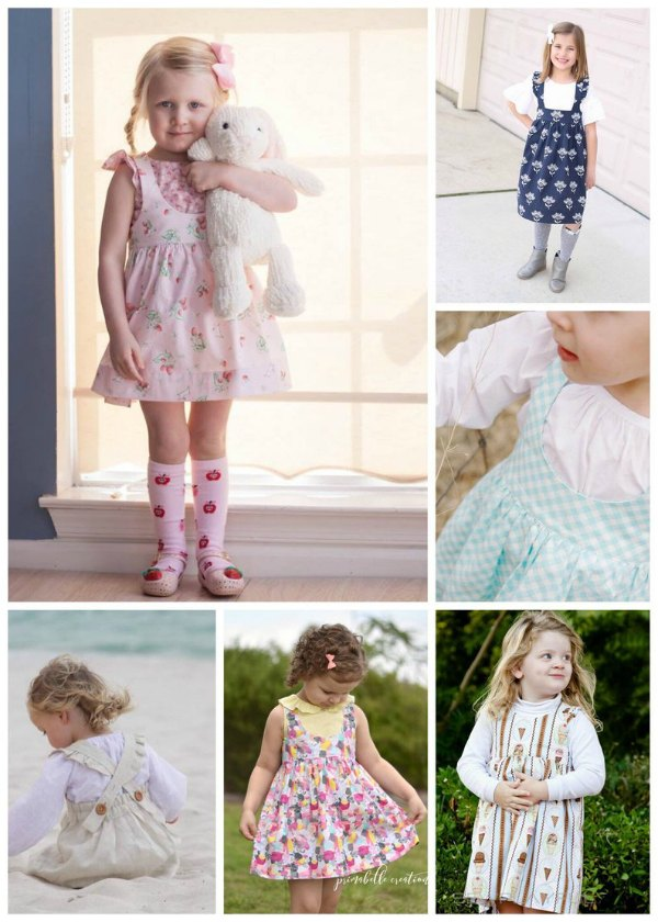 This is an Etsy best seller pattern for this designer. The Ainsley Pinafore Dress is a classic design for a confident beginner sewer. However, this awesome designer has also included in her tutorial an abundance of options for you to customize Ainsley if you wish.