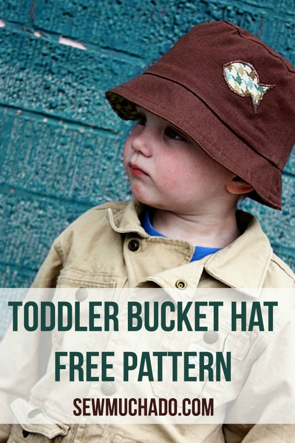This hat designer has very kindly produced an excellent digital pattern for FREE, so now is your chance to make this great looking Bucket Hat for a toddler. The designer has also made this hat reversible so you get two hats for the price of one, and the way she has made the brim of the hat will give you the option of having the brim up or down.