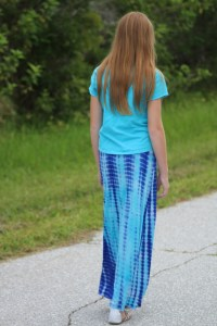 Chloe Skirt, Sewing with Kids