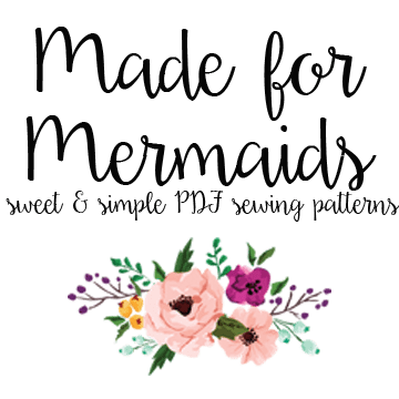 Made for Mermaids PDF sewing patterns