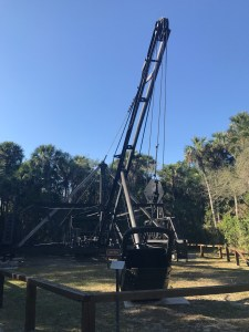 Collier Seminole State Park Campground Walking Dredge
