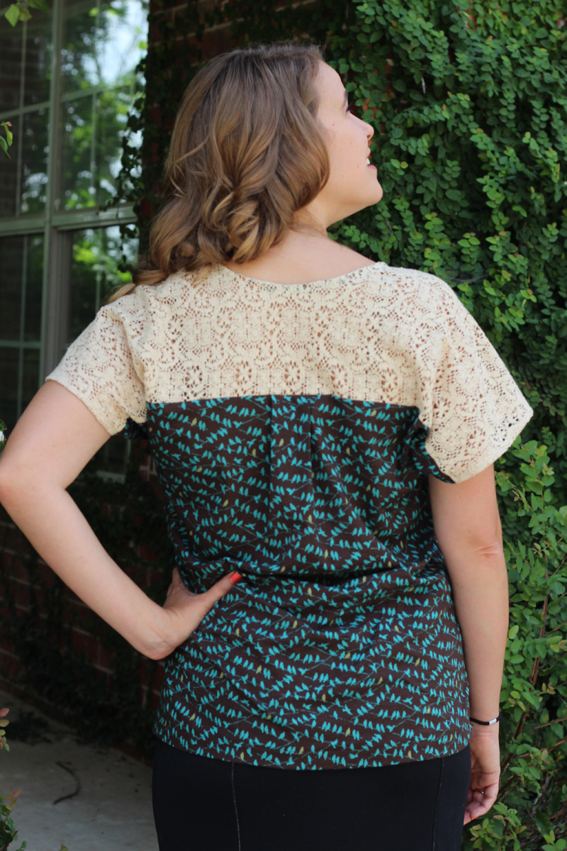 Super Online Sewing Match II Round ONE! The Sutton Blouse