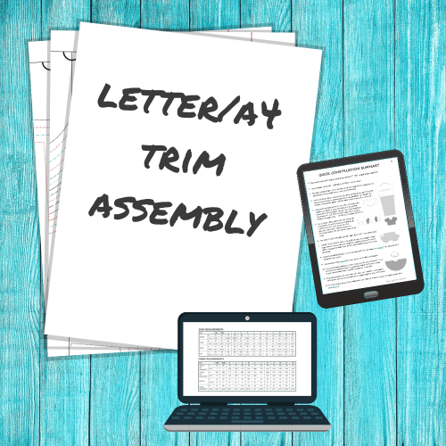 Letter/A4 Trim Assembly