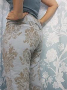 Indigo Dyed Jeans Muslin Sew Pomona