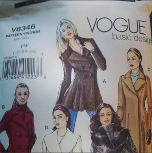 Day 9: next project. Have to make a muslin and then I am making a practice coat out of wool suiting before I use the woal coating. I've never made a coat before so I want to get this right. #bpsewvember #sewing #sewcialists