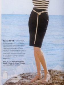 Burda Mag 03:2009 Skirt 104