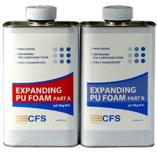 Expandable poly foam