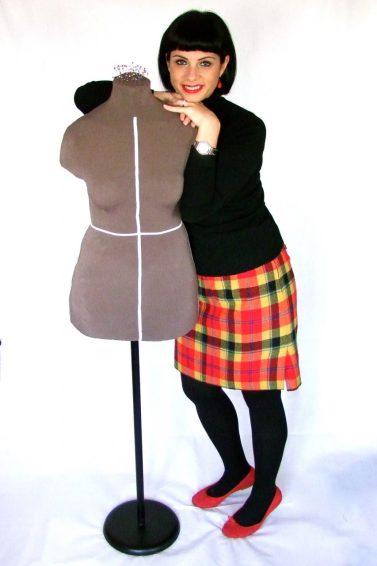 Custom made dress form