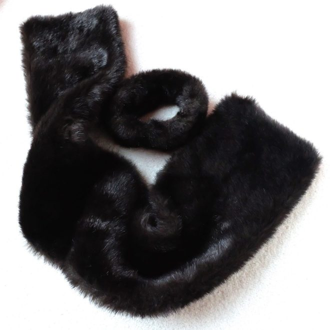 Faux Mink scarf5153