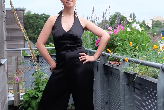 DIY SATIN JUMPSUIT | SIMPLICITY 2401