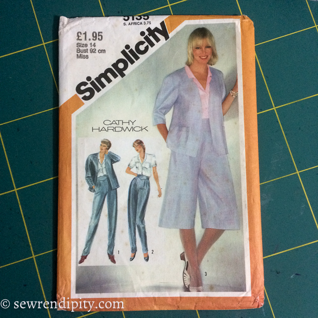 Simplicity 3135 Wool Culottes