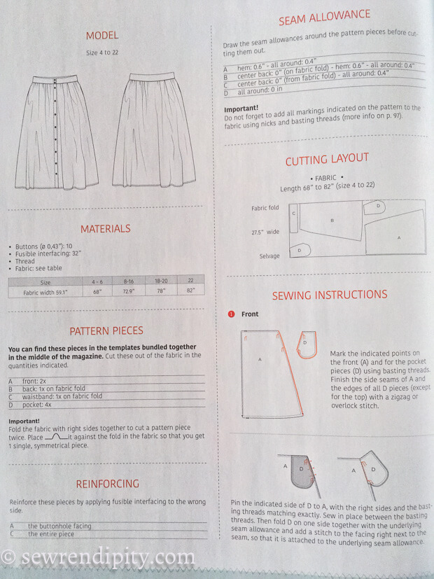 La Maison Victor 1st UK Issue - Instructions