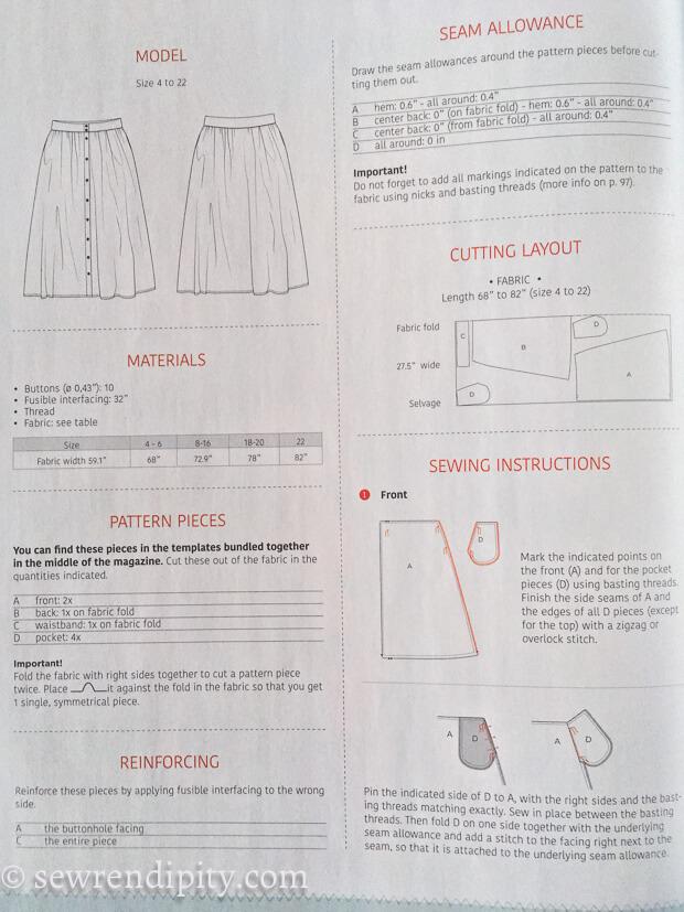 La Maison Victor 1st UK Issue - Instructions