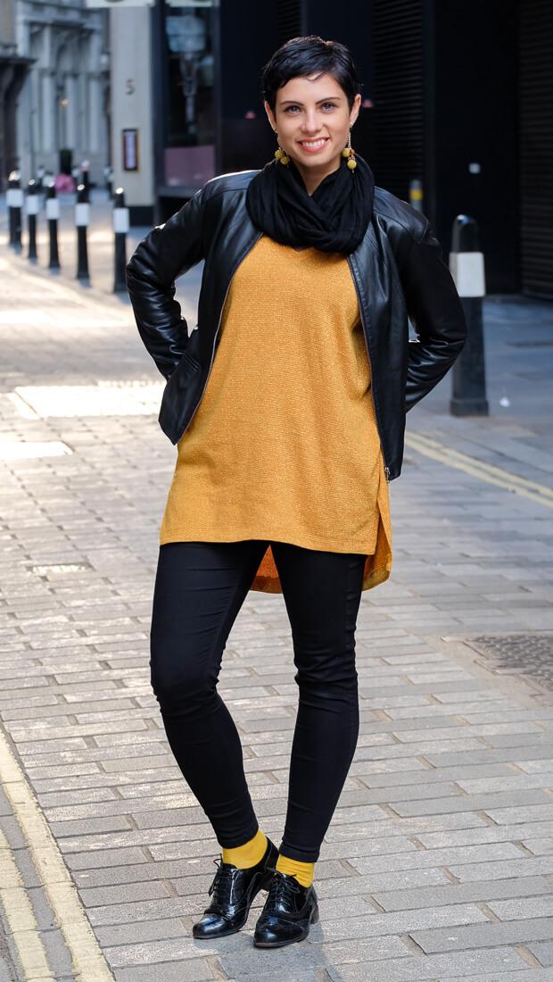 Oversize V-Neck Sweater Burda Style 12-2015 #118A-7