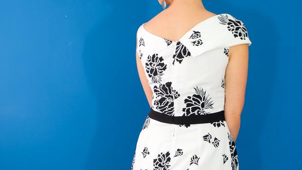 Burda Style Vintage Sophia Dress-2