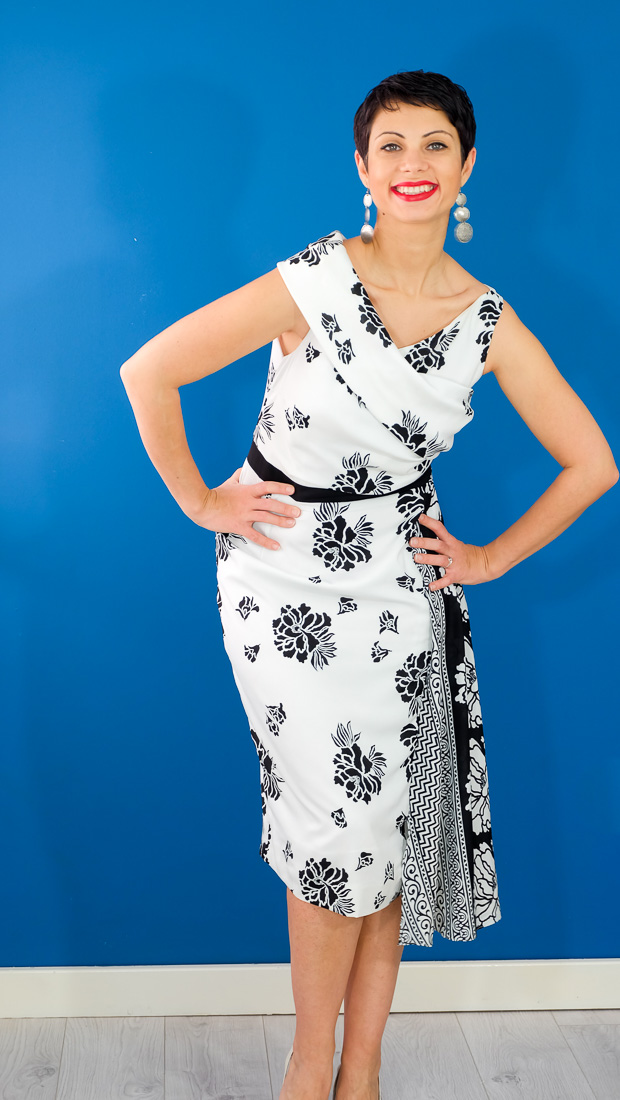 Burda Style Vintage Sophia Dress-20