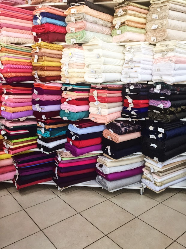Fabric shopping in Cluj - Nico Claus interior
