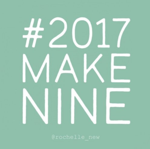 #2017makenine sewing pattern projects