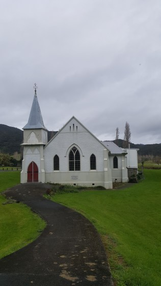 Wesleydale Memorial Church, Kaeo-KeriKeri parish, c 1820's - & still in use