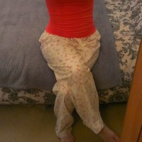 Simplicity Pyjama Trousers (free pattern)