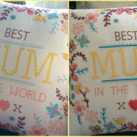 'Mum' Cushion Embroidery