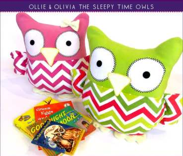 Sew4Home - Sleepy time Owls - SewSimple.de